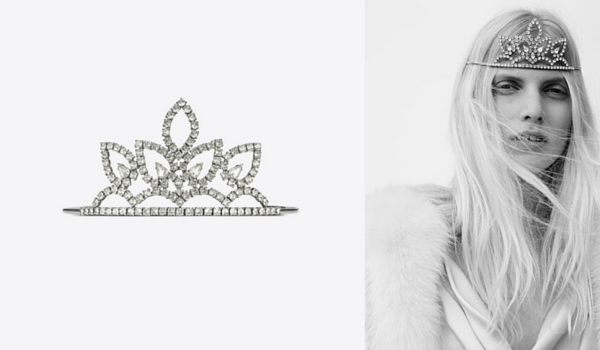 Collection printemps été 2016 : diademe hedi slimane pour Saint Laurent Paris